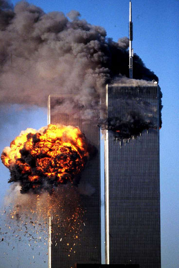 The September 11 terrorist attacks were described as 'delicious'.