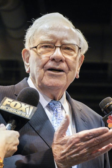 Warren Buffett has given away large chunks of his fortune.