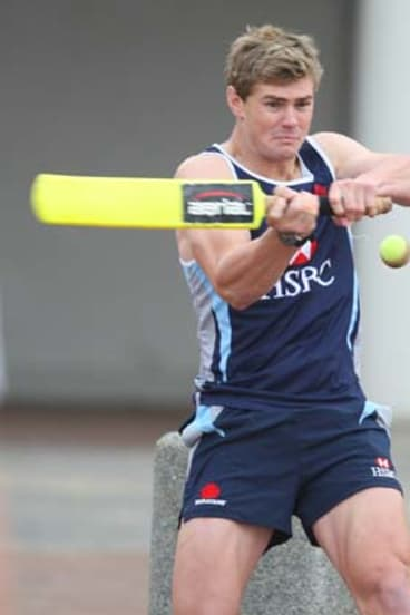 Free to play ... Berrick Barnes has received some good news following a series of worrying head knocks.