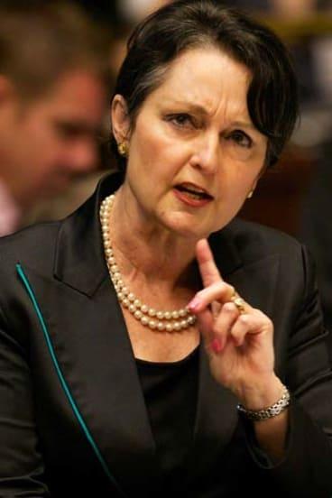 NSW Minister for Women Pru Goward.