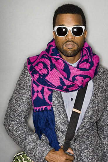 Kanye West ... one of the headliners for 2012 Big Day Out.
