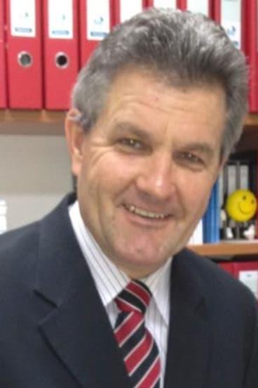 Australian Principals Federation president Chris Cotching.