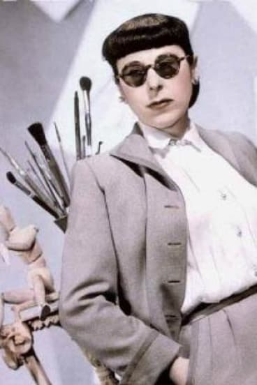 Multi-Oscar winning Hollywood costume designe Edith Head.