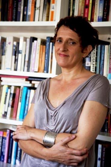 Author Charlotte Wood.