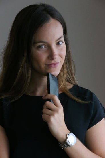 Playing safe: Marika Nikolaidis says the new CBA app makes her card more secure.