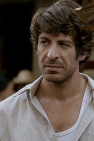 Don Hany as Sam Callaghan in <i>Serangoon Road</i>.