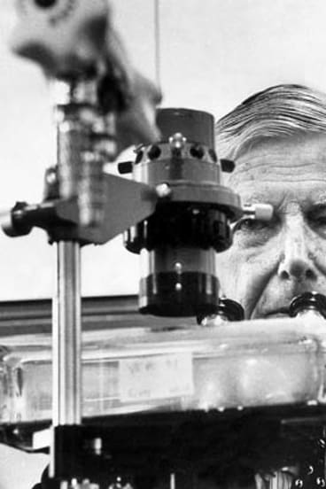 Virologist and immunologist, Sir Frank Macfarlane Burnet, was the first recipient of the Australian of the Year award.