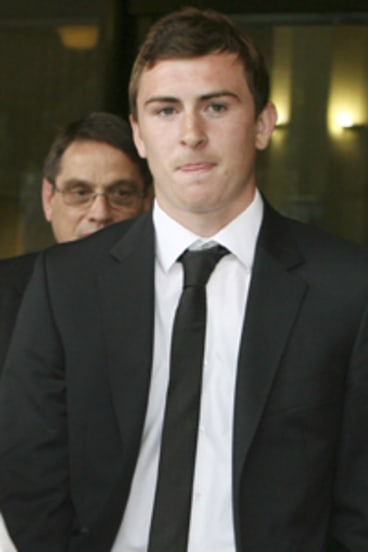 Charges dropped... Sebastian Ryall.