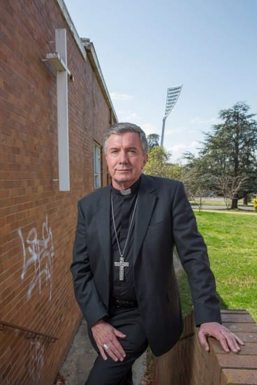 Opposed to euthanasia: Catholic Archbishop of Canberra and Goulburn, Christopher Prowse.