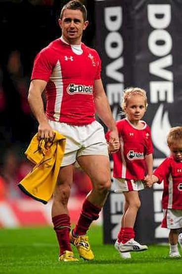 Shane Williams played his last Test for Wales against the Wallabies in 2011.
