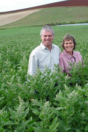 Lauran and Henriette Damen from Kindred Organics.
