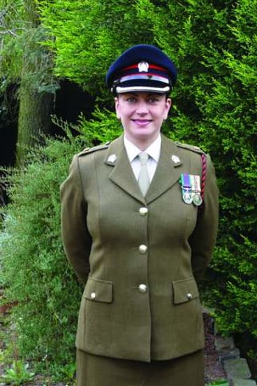 On Her Majesty's service … after being awarded the Queen's Commendation for Valuable Service award.