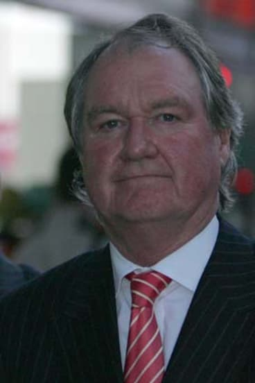 Struck off ... Russell Keddie has declared bankruptcy.