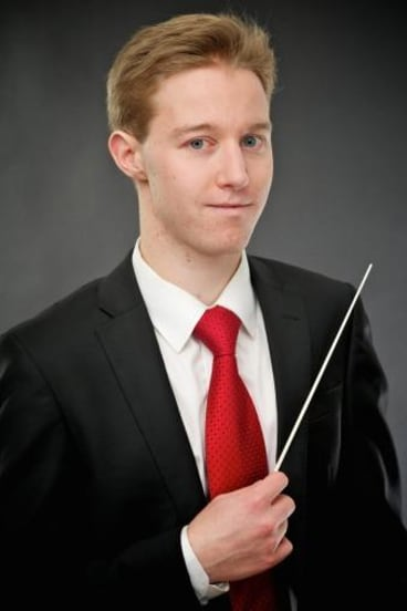 Leonard Weiss, musical director of the National Capital Orchestra.