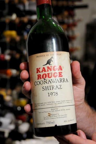Show-stopper ... Kanga Rouge shiraz.
