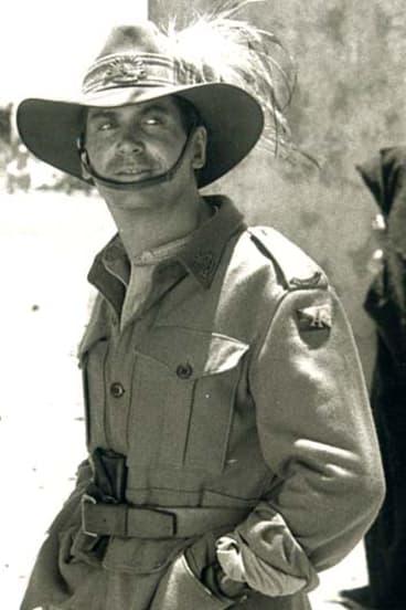 Jon Blake in the the movie The Lighthorsemen.