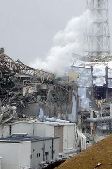 Recovery: Damage to the Fukushima plant.