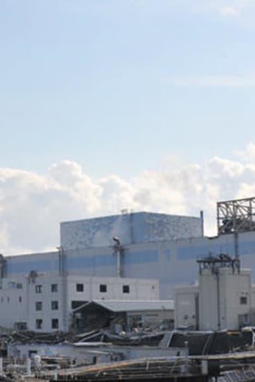 The Fukushima Daiichi nuclear power plant.