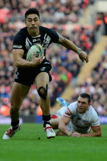 Early signing: Shaun Johnson is sticking with the Warriors until 2017.