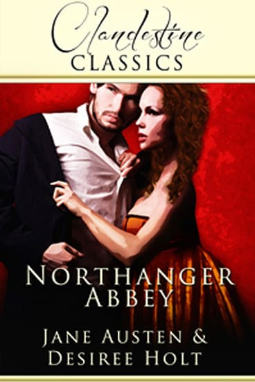 The cover of the erotic version of <i>Northanger Abbey</i>.