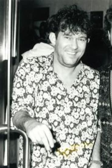 Jimmy Barnes, left, and his long-time promoter, Michael Gudinski, in the 1990's.