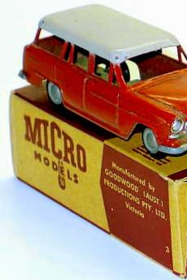 This Holden FE Station Wagon in original box sold for $600.