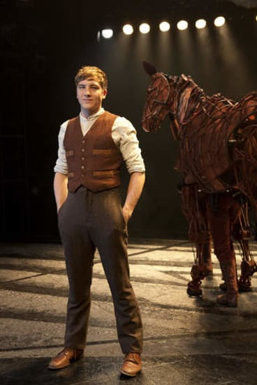 Cody Fern, the 24-year-old star of War Horse.