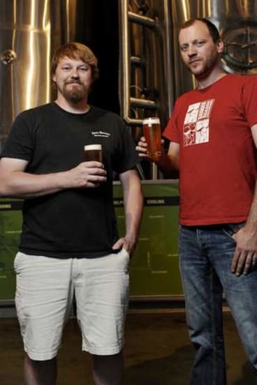 Jason Oliver and Marcus Cox will bring a bygone beer back to life.