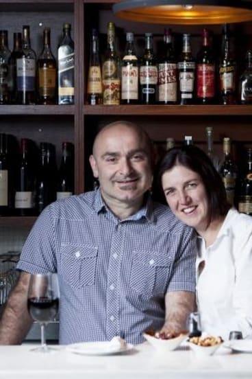 It's not for everyone: Tony and Amanda Giannakis.