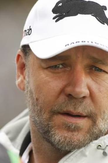 Russell Crowe has told Souths that he has no plans to sell his stake in the club in the short-to-medium term.