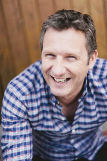 Adam Hills is quitting his ABC show because he is worried he'll 'run out of funny'.