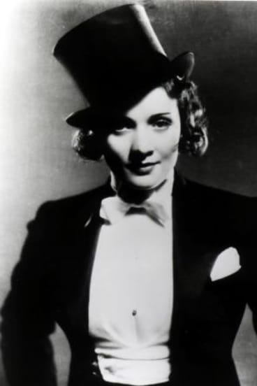 Designer Travis Banton was responsible for the tuxedo and top hat Marlene Dietrich donned for her nightclub act in Morocco (1930)