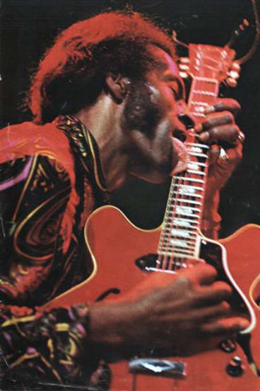 Rocker Chuck Berry.