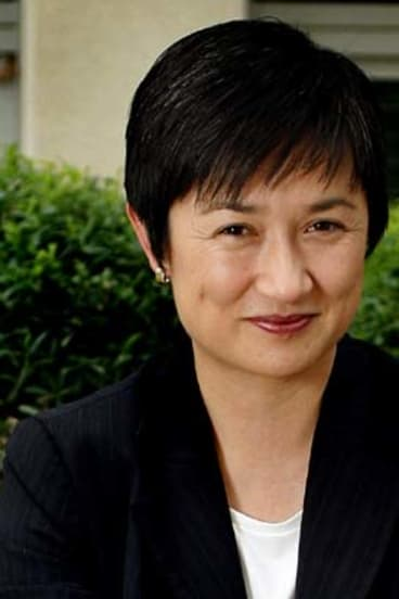 """<b>Penny Wong, Federal Finance Minister</b><br> Born in Malaysia, racially vilified at school and later vilified for her sexuality: """"I didn't become insular. I've seen that happen with kids, but it wasn't my response. I just pretended to be confident, even when I wasn't. I learnt to be steady and still, even when it felt very messy and difficult."""""""