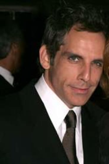 Ben Stiller with his mother, actor and comedian Anne Meara.