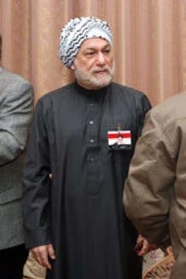 Saddam's brother-in-law Arshad Yassin.