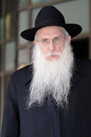 Rabbi Abraham Glick.
