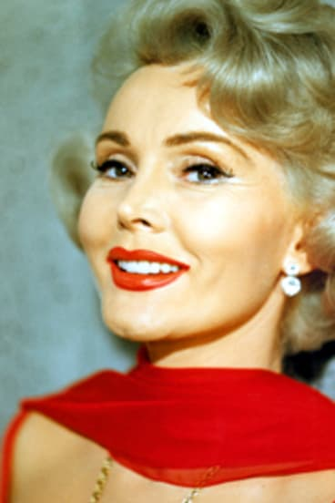 """""""There is nothing wrong with a woman welcoming all men's advances, so long as they are in cash"""" ... Zsa Zsa Gabor."""