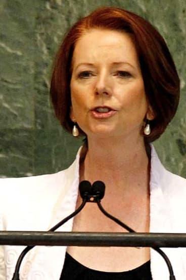 Julia Gillard ... you'll hear about her bum, but never Joe Hockey's.