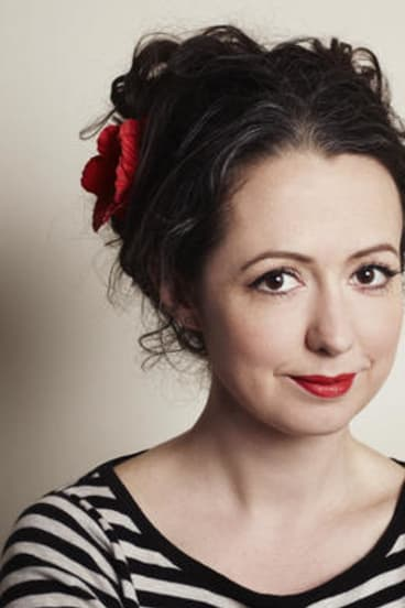 Melbourne writer and TV identity Marieke Hardy.
