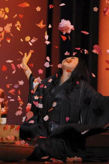 Hiromi Omura in <i>Madama Butterfly</i>.