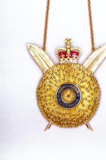 Order of Australia, The Secretary's Badge 1975.