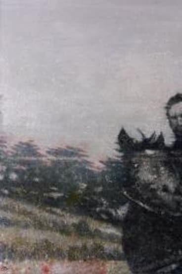 Rider, turning,  by  Thornton Walker.