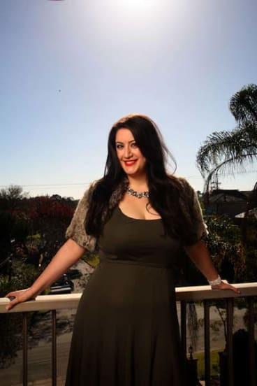 Soprano ... Natalie Aroyan, at her north shore home, will participate in a prestigious opera program in Italy.