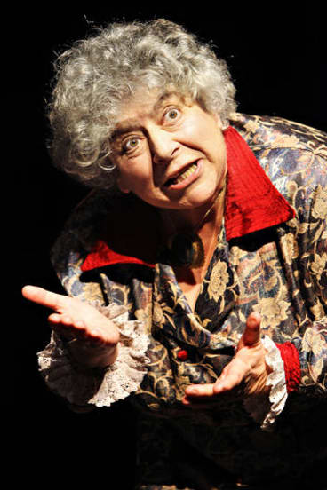 As an only child, Miriam Margoyles says she needs to connect with people.