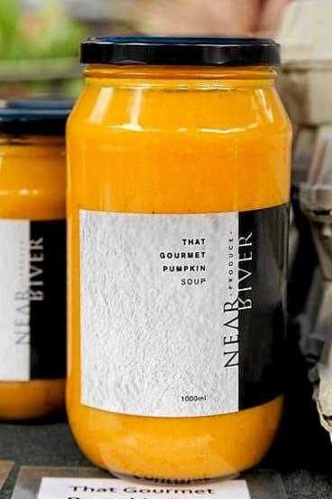 Farm fresh ... That Gourmet Pumpkin soup.