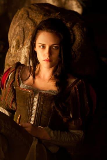 Kristen Stewart as Snow White.