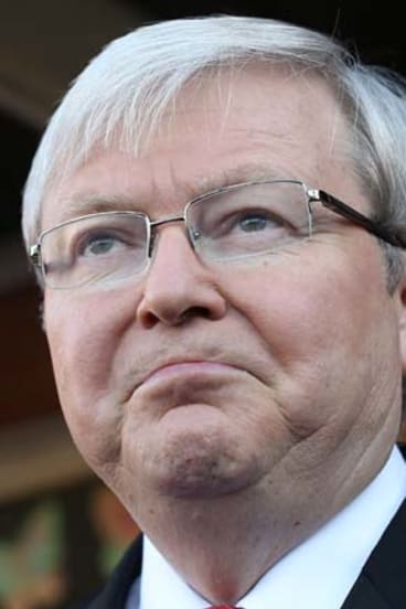 Kevin Rudd: Pledged to halve homelessness by 2020 in 2008.