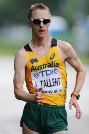 Jared Tallent.
