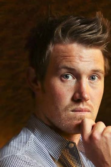 """<b>Eddie Perfect, actor and musician</b><br> Chubby, arty and non-sporty. His PE teacher nicknamed him """"Not-So-Perfect"""": """"I don't think I fitted in because, essentially, I was a bit of a wuss-bag. I was sensitive and I'd cry really easily."""""""